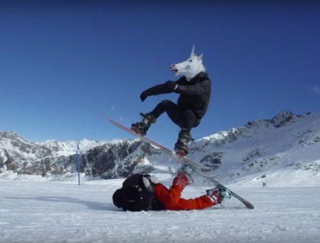 Clip EINHORN Snowboard