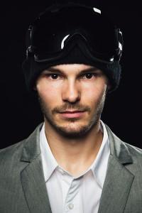Thomas Feurstein Portrait Snowboarding